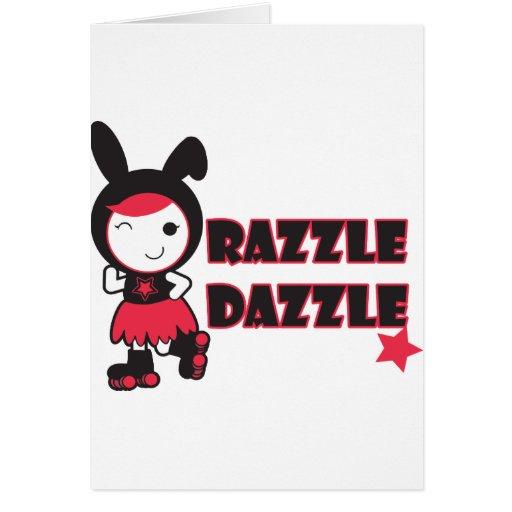 Rodillo Derby - Razzle deslumbra Felicitación