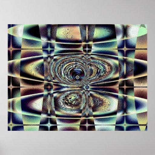 RODILLO - poster del arte del fractal