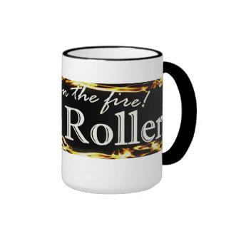 Rodillo santo tazas de café