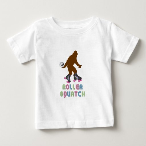 Rodillo Squatch Playera De Bebé