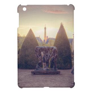 Rodin jardin du musée à l'heure d'or iPad mini covers