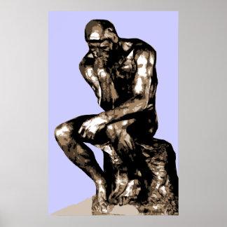 """Rodin """"la lona del pensador"""" - impresiones"""