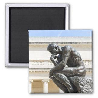 Rodin Thinker Statue Magnet