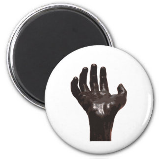 Rodin's Hand 2 Inch Round Magnet