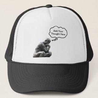 Rodin's Thinker - Add Your Custom Thought Trucker Hat