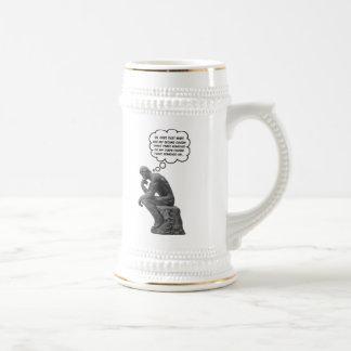 Rodin's Thinker - Cousins Coffee Mug
