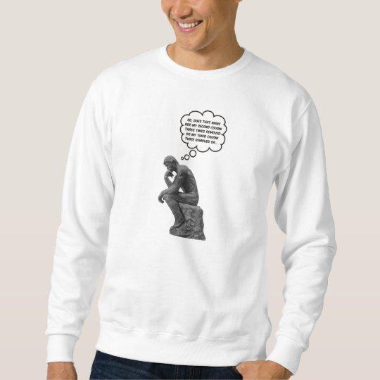 Rodin's Thinker - Cousins Sweatshirt