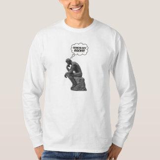 Rodin's Thinker - Genealogy Rocks! T Shirt