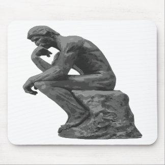 Rodin's Thinker Mousepad