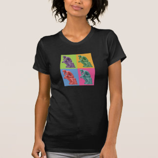 Rodin's Thinker - Pop Art T Shirt