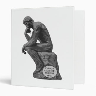 Rodin's Thinker - So Many Ancestors Binder