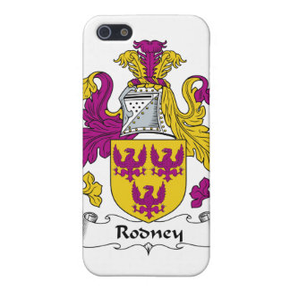 Rodney Family Crest iPhone 5 Case