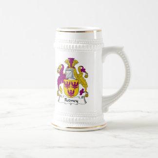 Rodney Family Crest Mugs