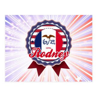Rodney, IA Post Card