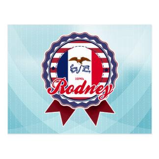 Rodney, IA Post Cards