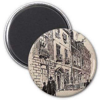 Rodney Place 2 Inch Round Magnet