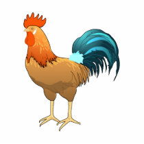 Rodney Rooster Cutout