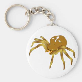 Rodney The Golden Spider Keychain