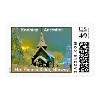 Rodning Ancestral Church Stamp