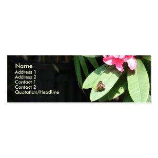 Rododendro (2) plantillas de tarjetas de visita