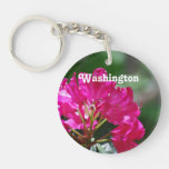Rododendro en Washington Llavero