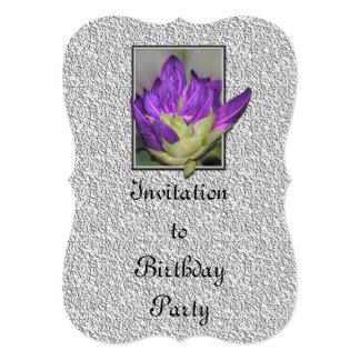 "Rododendro Invitación 5"" X 7"""