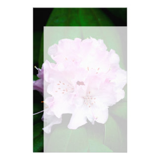 Rododendro rosa claro papelería personalizada