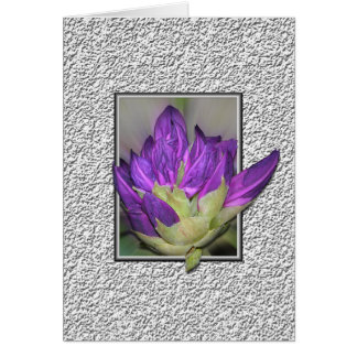 Rododendro Tarjeta De Felicitación