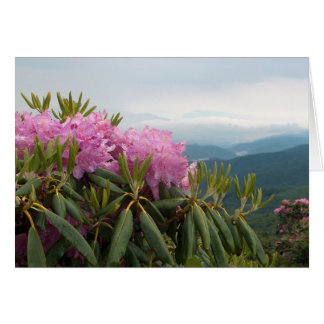 Rododendros Tarjeta De Felicitación