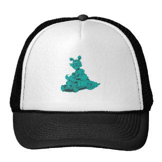 rodrabbit-aguamarina gorra