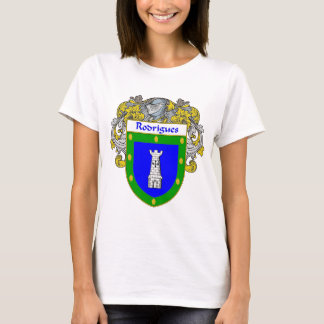 Rodrigues Coat of Arms/Family Crest T-Shirt