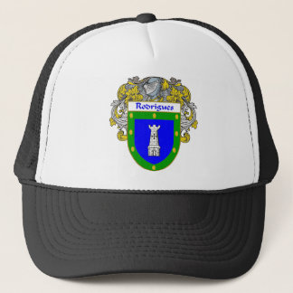 Rodrigues Coat of Arms/Family Crest Trucker Hat