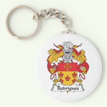Rodrigues Family Crest Keychain