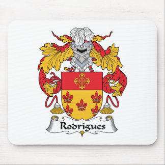 Rodrigues Family Crest Mouse Pad