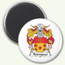Rodrigues Family Crest Magnet