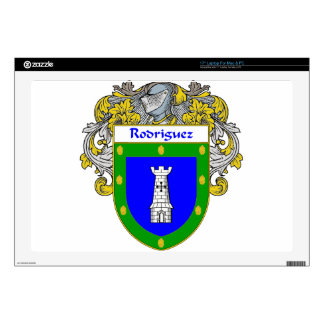 Rodriguez Coat of Arms/Family Crest Laptop Skin
