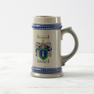 Rodriguez Coat of Arms Stein