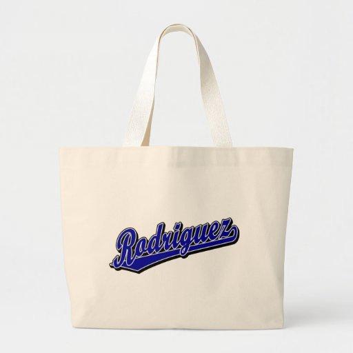 Rodriguez en azul bolsa