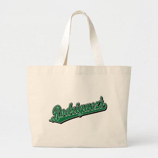 Rodriguez en verde bolsa