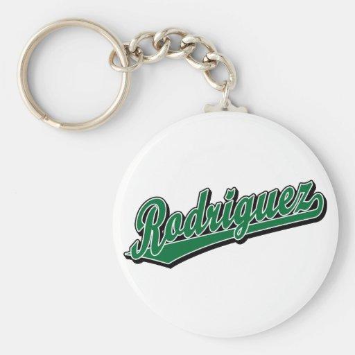 Rodriguez en verde llaveros personalizados