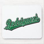 Rodriguez en verde tapetes de ratones