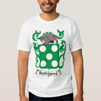 Rodriguez Family Coat of Arms T-shirt