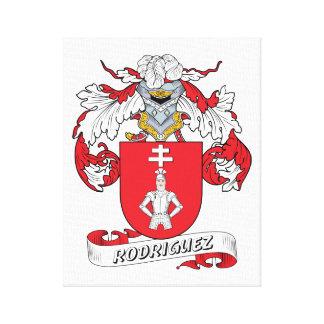 Rodriguez Family Crest Canvas Print