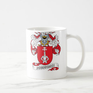 Rodriguez Family Crest Coffee Mug