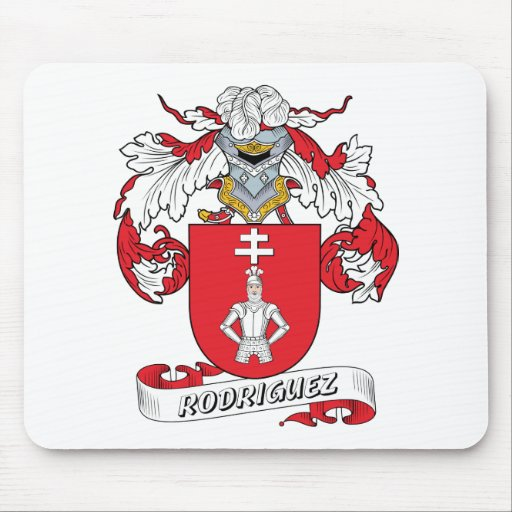 Rodriguez Family Crest Mouse Pads