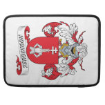 Rodriguez Family Crest Sleeves For MacBook Pro