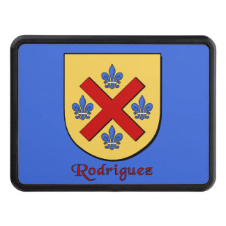 Rodriguez Family Shield Hitch Cover