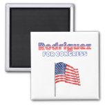 Rodriguez for Congress Patriotic American Flag Des Fridge Magnet