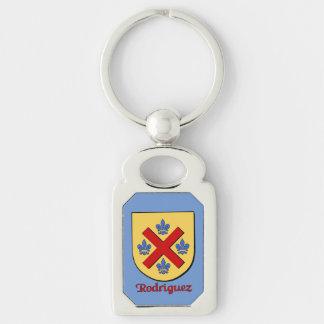 Rodriguez Historical Shield Keychain