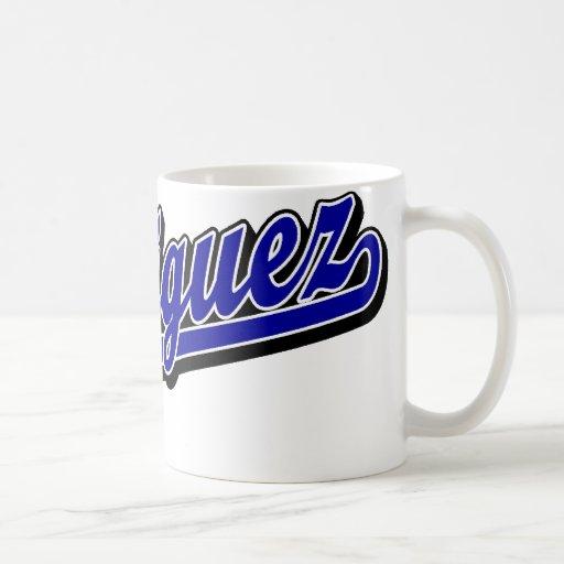 Rodriguez in Blue Mug